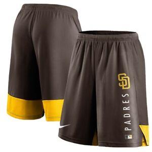 Nike San Diego Padres Authentic Training Performance Shorts Men's [Sz L]