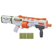 Nerf Halo Bulldog SG Dart Blaster -- Pump-Action, Rotating 10-Dart Drum,