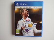 FIFA 18: Ronaldo Edition pour PS4 en parfait état