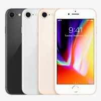 Unlocked Apple iPhone 8   64GB 256GB   Space Gray Silver Gold Red GSM (A1905)