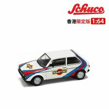 VW Golf I Martini White SCHUCO MODEL 1/64 #A452021400