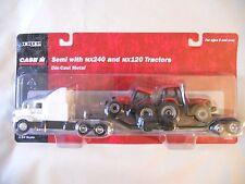 Ertl Farm Country Toy CaseIH Dealer Semi Truck w/120 240 Tractors Set MIP 1/64!!