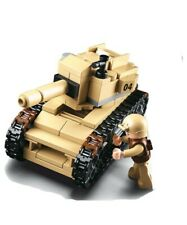 Sluban  Army Tank & Figure Army Construction brick set Childs B0587B