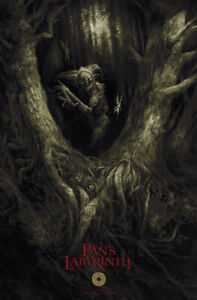Karl Fitzgerald Pan's Labyrinth Art Print Poster /100 Mondo Bottleneck Del Toro