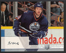 Brad Winchester 2006-07 Be A Player Portraits 8x10 Autograph Oilers