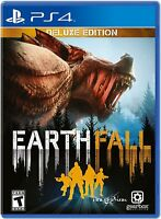 Earthfall Deluxe Edition PS4 - NEW & FREE SHIPPING