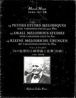 Marcel Moyse - 24 kleine Melodische Übungen mit Variationen ( leicht ) für Flöte