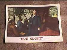 GUN GLORY 1957 LOBBY CARD #5 WESTERN