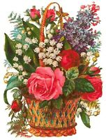 Flowers 72/ Counted Cross Stitch Patterns/ Printable Chart PDF Format Needlework