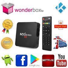 MXQ Pro 1Gb 8Gb Android 7.1.2 Nougat Quad Core Smart TV Box Kodi 17.6 Wonderbox