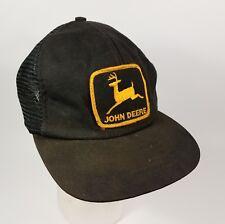 Vintage 80s John Deere Trucker Hat Swingster Made In Usa Logo Patch