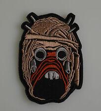 Star Wars - Tusken Räuber Kopf - Patch Uniform Aufnäher - zum Aufbügeln - neu