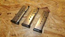3 - NEW 7rd STS mags magazines clips for Sig Sauer 1911 COMPACT .45   (Z110)