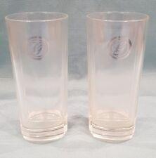 Rare Set of 2 Gordon's G Gin Hi-Ball/Mixer Heavy Base Glass-G&T-14.5cm Tall-GC