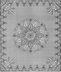 """Welsh Beauty Premarked Wholecloth Quilt Top 88"""" x 106"""" 2 Colors Available"""