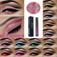Waterproof Glitter Eyeliner Eyeshadow Gel Liquid Makeup Eye Shadow Pen New
