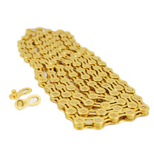 VG Sports 8 Speed Bicycle Chain Half-Hollow 116L MTB mountain Road Bike Chains