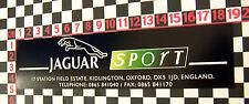 Nice glass sticker for a Jaguar XJ40 or XJS Sport - TWR