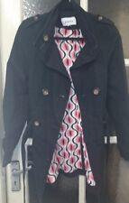 Ladies Papaya Black Jacket/Coat UK Size 8