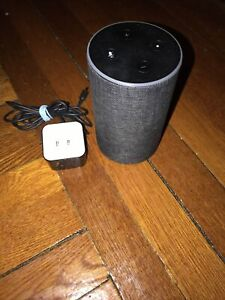 amazon alexa 2nd generation Canvas Cover