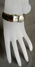 Vintage BELVIL Hamilton Gold Filled Ladies Watch Bracelet Manual Wind Working