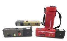 3x Lot Agfa Gevaert Pocket camera Sport Tramp Star Color Apotar case if016