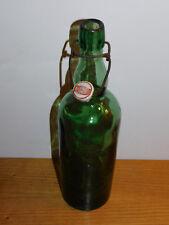 ancien vintage BOUTEILLE brasserie de LUTTERBACH alsace BIERE bier BEER