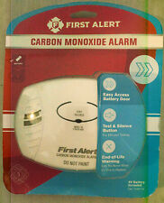 New First Alert Carbon Monoxide Alarm, Battery Operated 9V Included