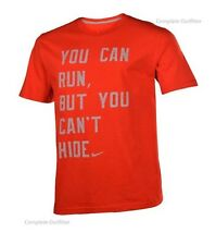 Nike You can Run But You Cant Hide T Shirt Size Medium New with Tags