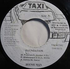BEENIE MAN ~ JAMAICA 45 dub DIGI reggae ROOTS ~ FOUNDATION ~ RARE!