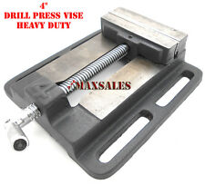 """4"""" Drill Press Vise Pipe Clamping Holding 3-3/4"""" Throat Open Workbench Drill"""