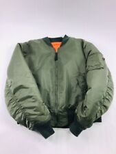 Alpha Industries Men's MA-1 Flight Bomber Jacket Reversible Limited Ed M