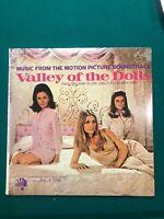 Valley Of The Dolls Vintage Vinyl LP Soundtrack Still Sealed! Dated 1967