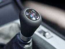 Genuine BMW Gearshift knob, leather/M plaque/5-speed PN: 25117896031 new UK