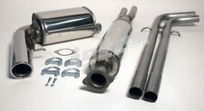 VOLVO V70n Turbo 2wd Jetex Performance Stainless Cat Back Exhaust System Upgrade