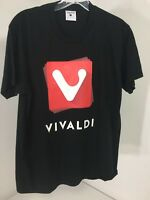 TARTOO VIVALDI MEN'S LOGO GRAPHIC SHORT SLEEVE T SHIRT BLACK MED NEW