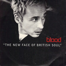 BLOOD - NEW FACE OF BRITISH SOUL - 4 TRACK CD SINGLE