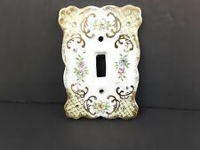 Vintage Lefton Ceramic Light Switch Cover