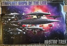 Set of 2 (1) STAR TREK STARFLEET SHIPS of the LINE (1) HOMELAND SECURITY Posters