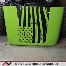 Jeep Wrangler USA Jeep hood blackout JK 06-2018 Hood blackout decal