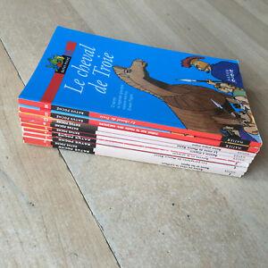 lot 9 livres Ratus Poche - Série Rouge Bons lecteurs / 7 - 9 ans  Hatier
