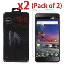 2-Pack Premium Tempered Glass Screen Protector For ZTE ZMAX PRO