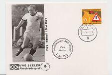 Abschiedsspiel von Uwe Seeler am 1. Mai 1972 in Hamburg [Sonderpostkarte] !!