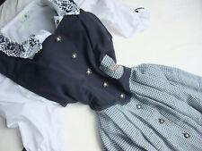 Folk Line Dirndl Trachtenkleid Balkonett Kleid Dirndel Landhauskleid Gr. 42