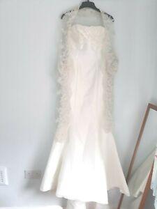 Maggie Sottero Mermaid Wedding Dress Size 8. J934V