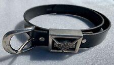Harley Davidson Black Leather Belt XXL 44/46