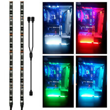 PC Gaming LED Strip Lights Case Lighting Gamer DIY 4 Pin RGB for Aura Sync