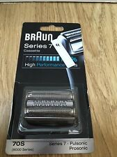 Braun 70S Replacement Cutter Foil Cassette Series 7 Pulsonic 9000, 790cc, 9595