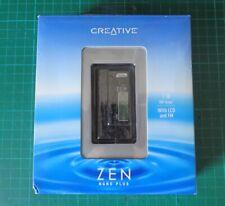 Creative Zen Nano Plus 1GB, Negro, MP3 o WMA Reproductor & codificador, Micrófono. & FM Radio