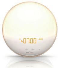 Philips Wake-Up Light & FM Radio – HF3520/60 – Colored Sunrise Simulation – NEW